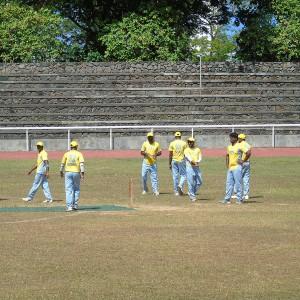 777 team while fielding